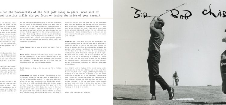 Golf Book: Bump & Run
