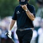 Phil Mickelson during the final round at the 2013 U.S. Open (Copyright USGA/John Mummert)