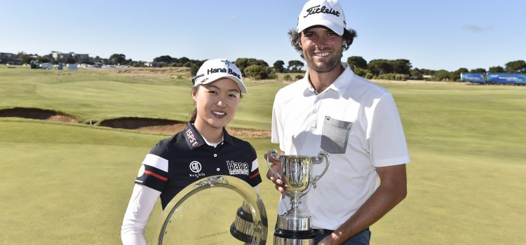 Hawkes, Lee take Vic Open titles