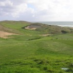 The first hole at Ocean Dunes Golf Links