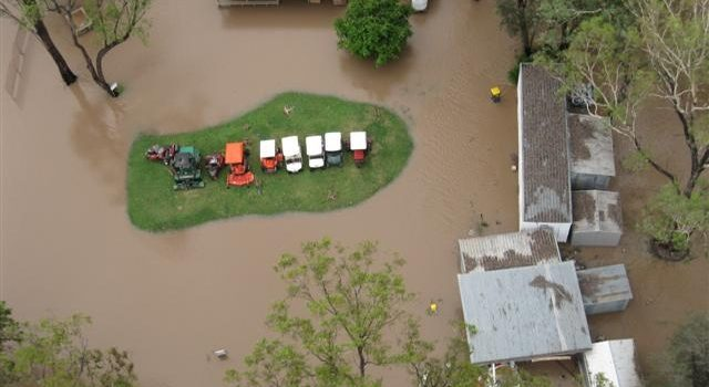 Queensland Floods: Water, water everywhere