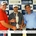Millar, Barnes and Kulacz book Open starts