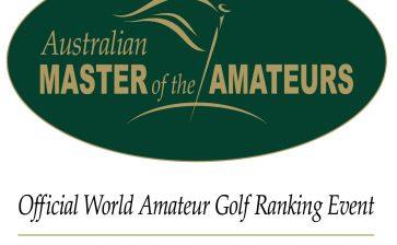 Master of the Amateurs set to soar at Royal Melbourne