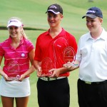 From left: Mikaleigh Pickles (Girls Open), Matthew Samen–Curtis (A Grade Boys), and Karl Preston (Boys B/C Grades).
