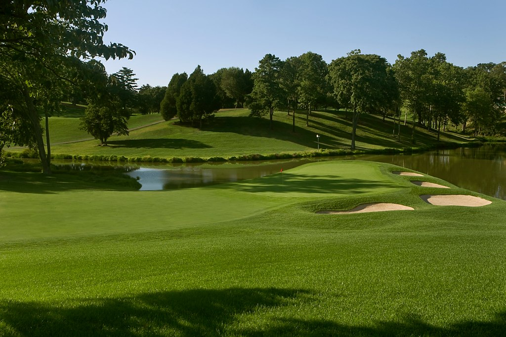 Congressional Country Club 18 Blue