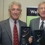 2014 ISPS HANDA World Blind Championship Winner Malcolm Elliott and caddy Neil Walker from Western Australia