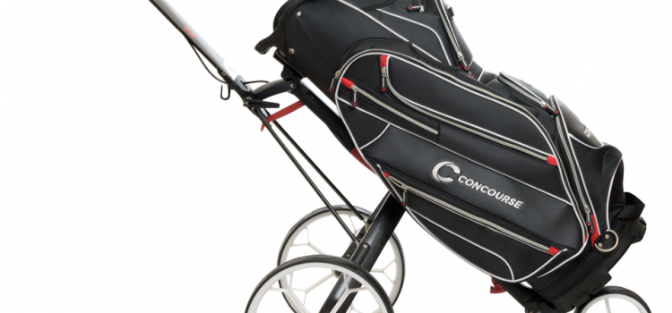 WIN: The Ultimate Concourse Golf Bag & Buggy Combo