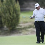 Peter Senior has used a long putter for over 20 years