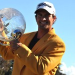 Adam Scott at the Australian Masters
