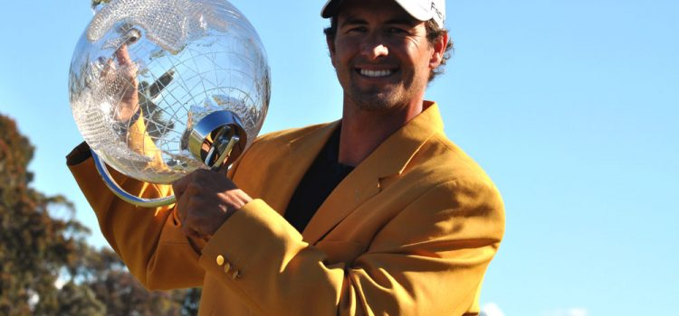 Adam Scott set for Aussie Summer