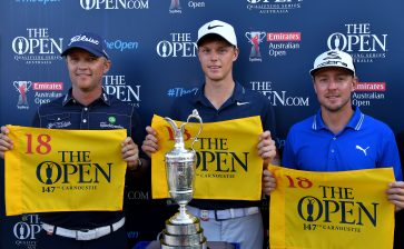 Davis, Blixt and Jones qualify for The Open