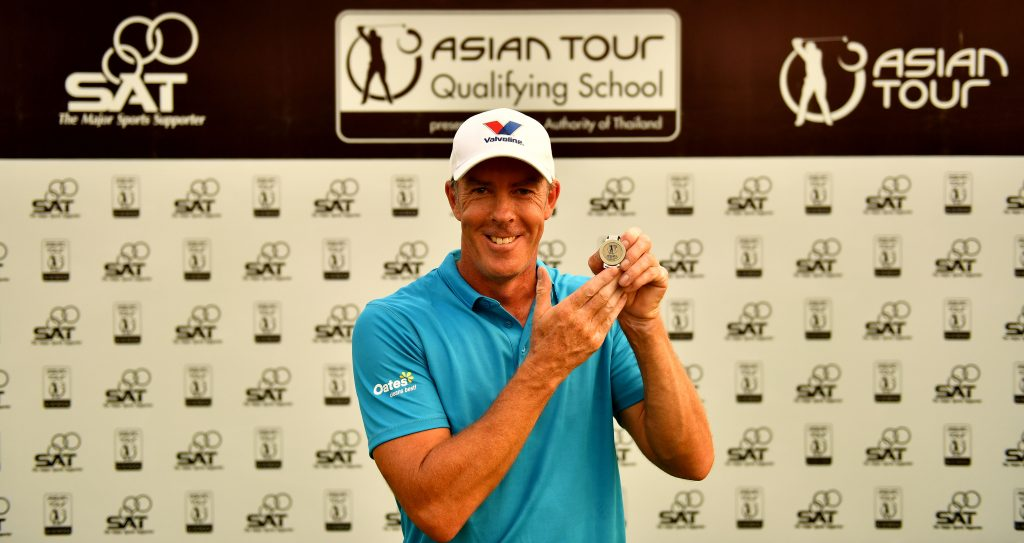 Richard Green (Picture by Paul Lakatos/Asian Tour)