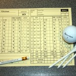 Creating a 'Par-3' scorecard will help you analyse which part of your game is affecting your scores the most.
