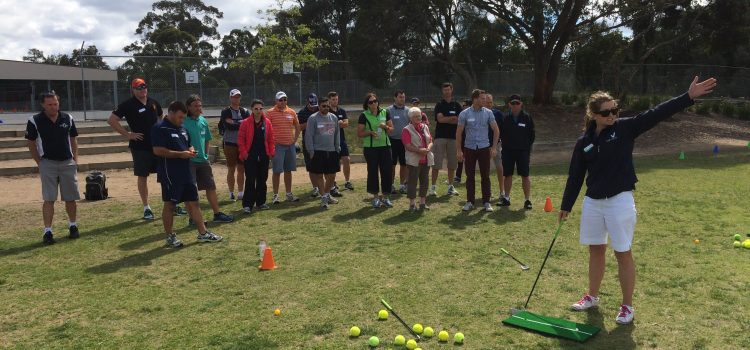 Teaching the teachers to teach golf