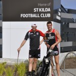 Brendon Goddard and Sam Fisher