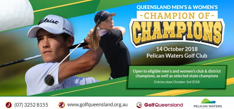 Queensland Champion of Champions stand-alone