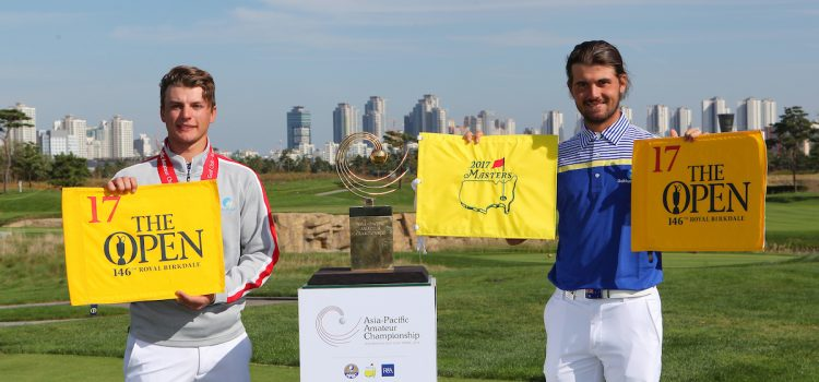 Luck captures Asia-Pacific Amateur Championship; Coletta nabs Open place