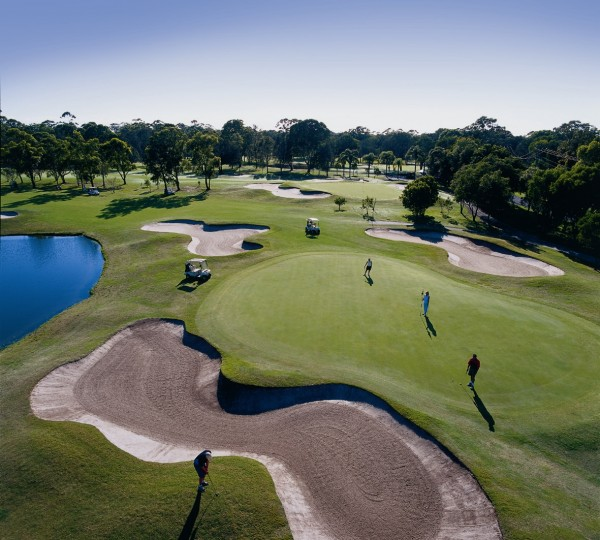 Coolangatta & Tweed Heads Golf Club's 18th hole West Course