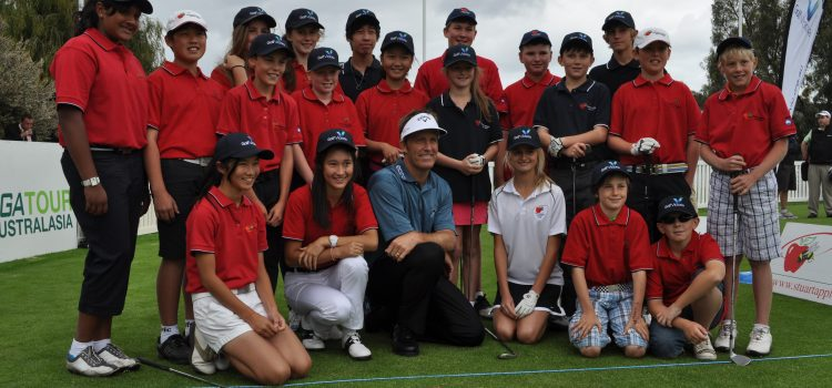 Stuart Appleby and Golf Victoria join forces for junior golf
