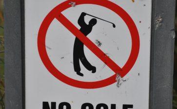 Is your golf club anti-social?
