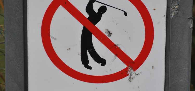 Is your golf club anti-social?
