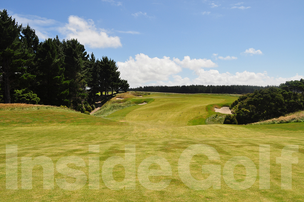 Cape Kidnappers 1st fairway