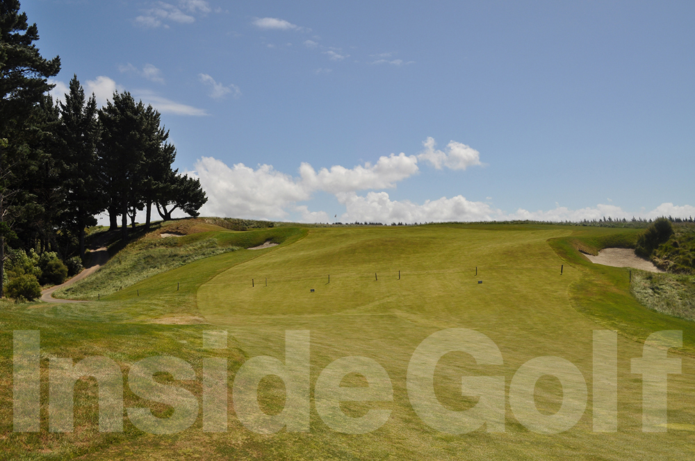 Cape Kidnappers 1st fairway and green