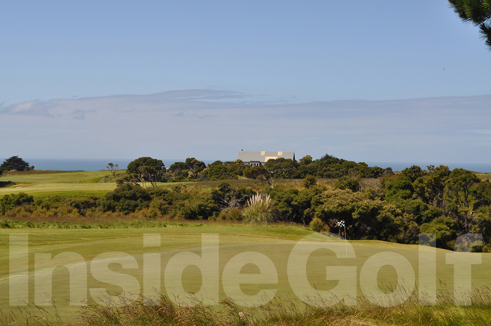 Cape Kidnappers 1st green