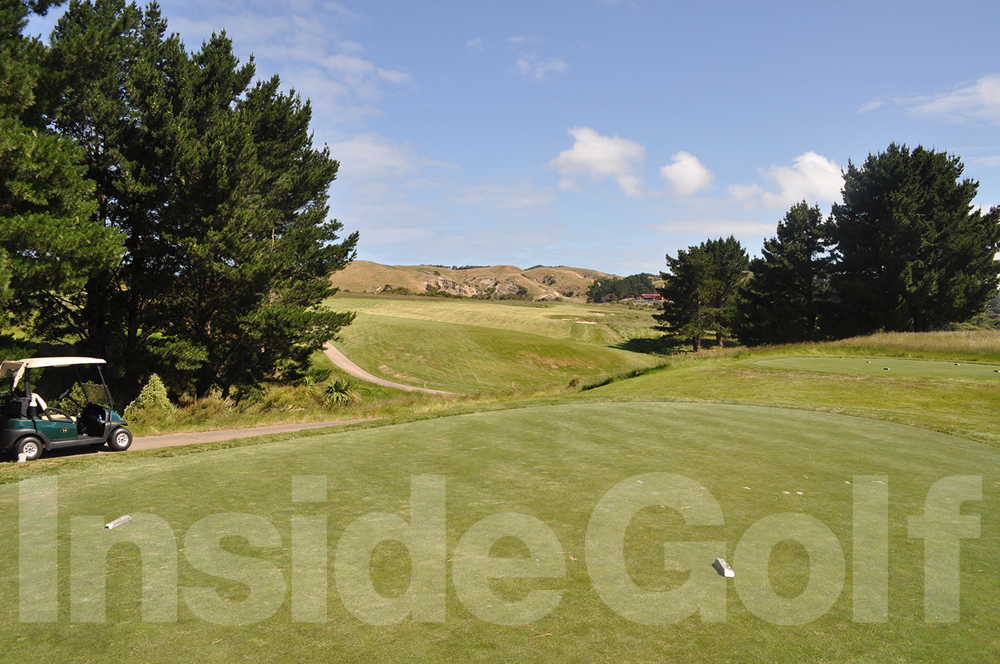 Cape Kidnappers 2nd tee