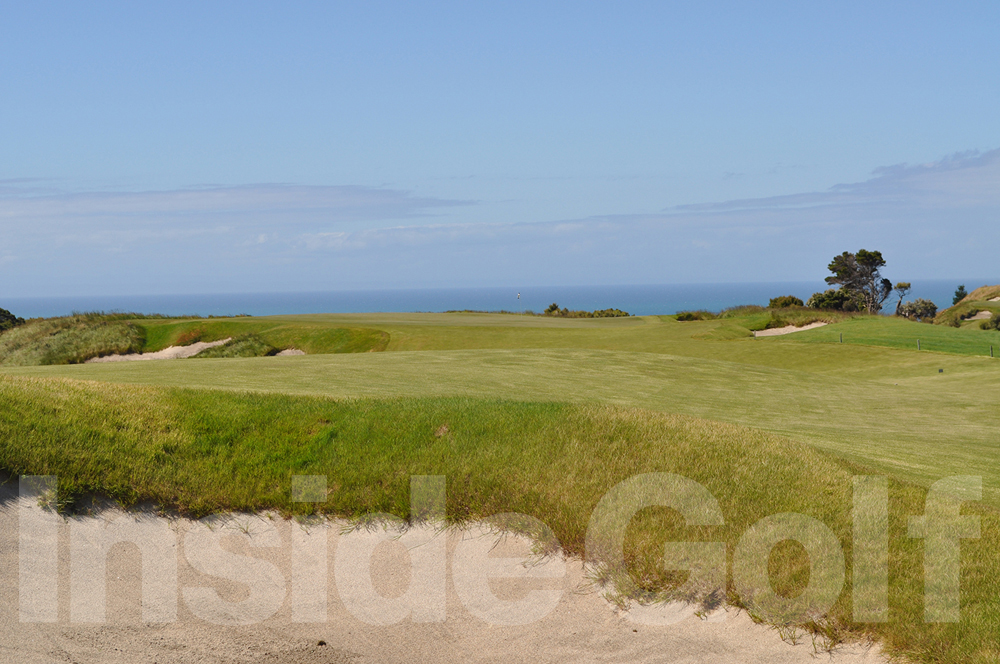 Cape Kidnappers 5th green