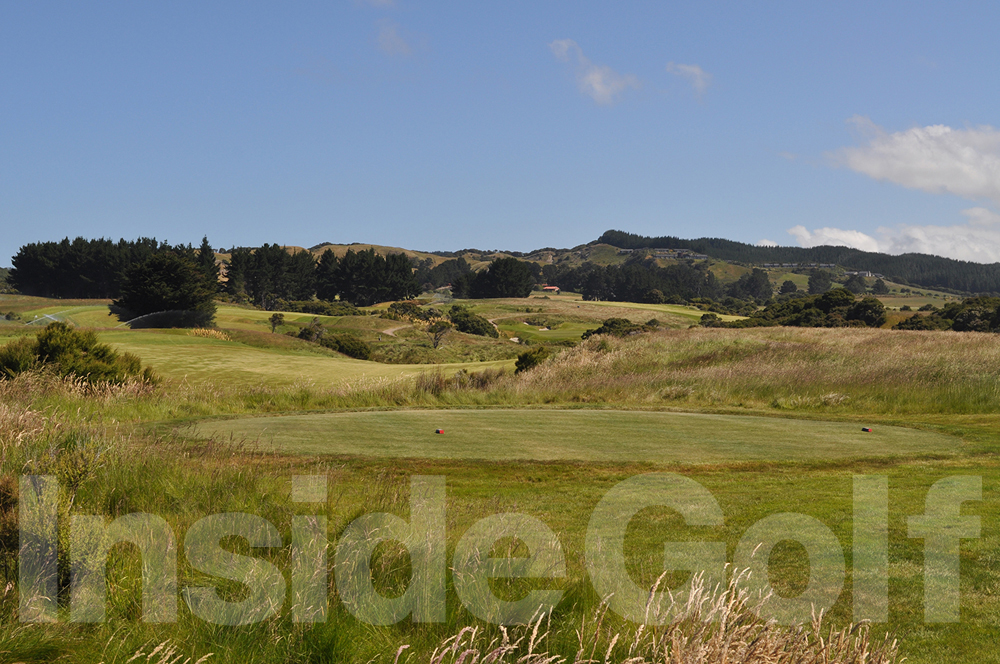 Cape Kidnappers 7th  tee