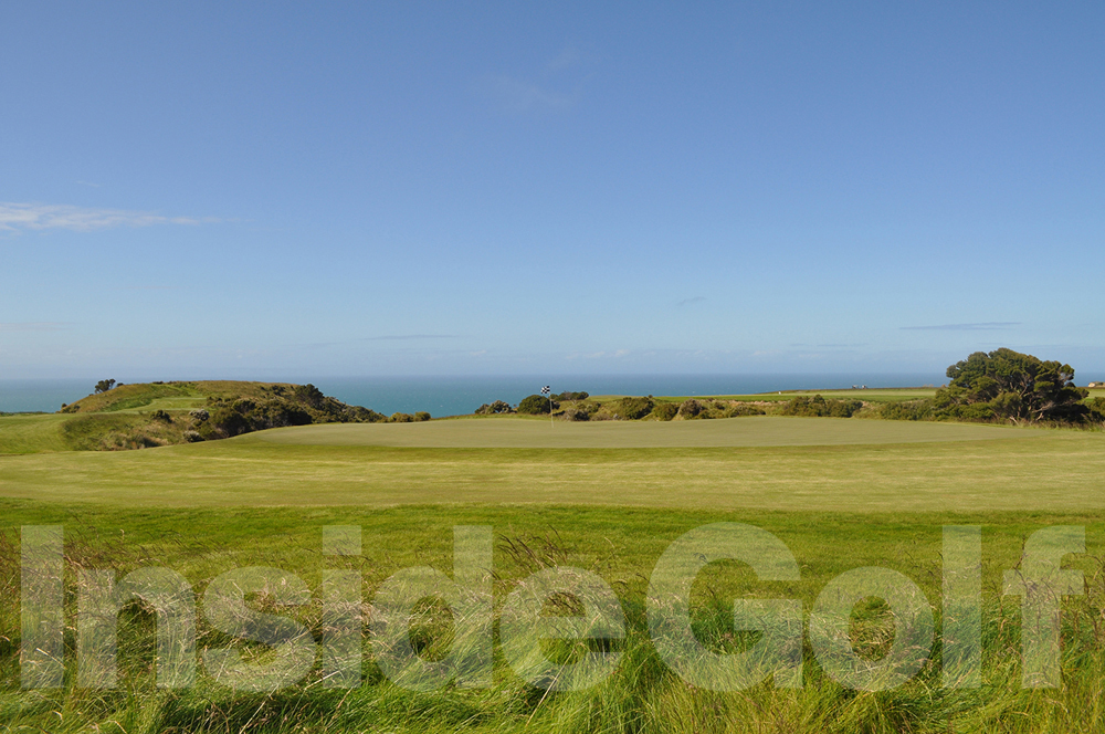 Cape Kidnappers 11th green