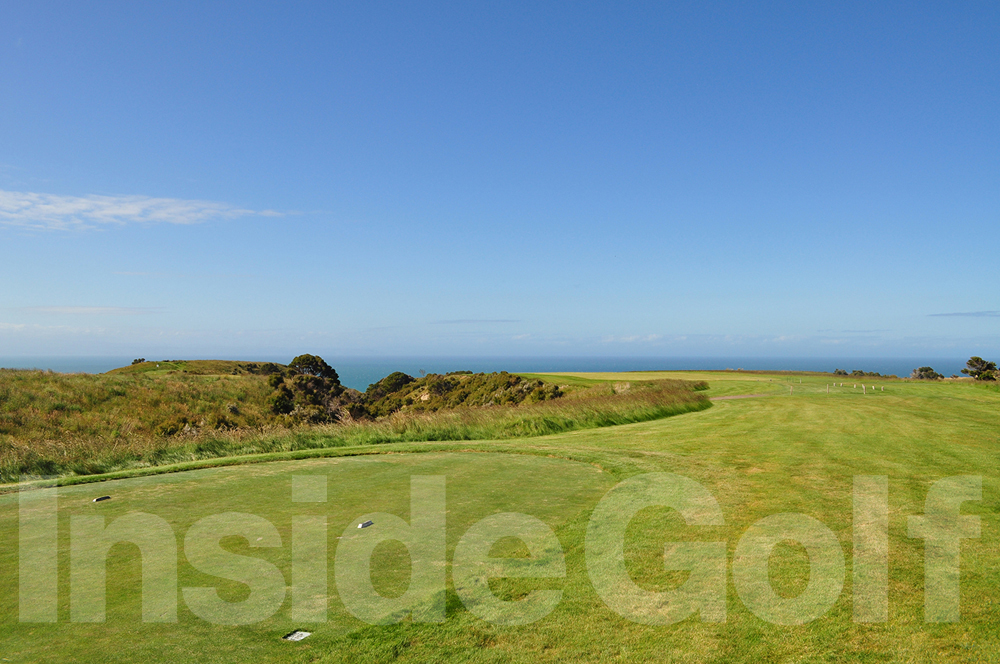 Cape Kidnappers 12th  tee