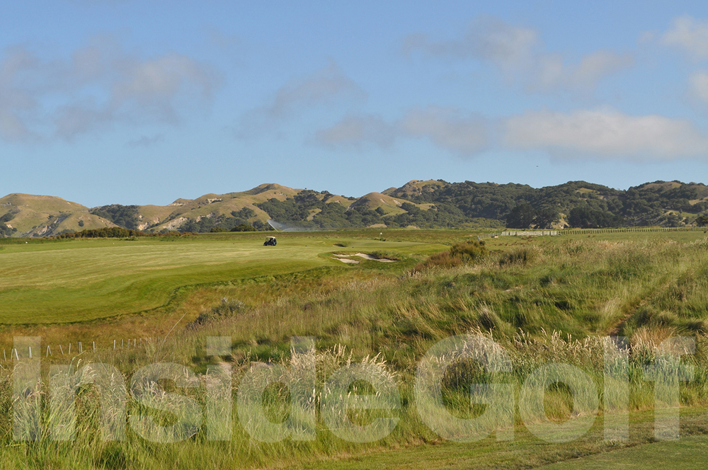 Cape Kidnappers 14th  tee
