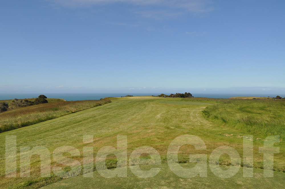 Cape Kidnappers 15th  tee