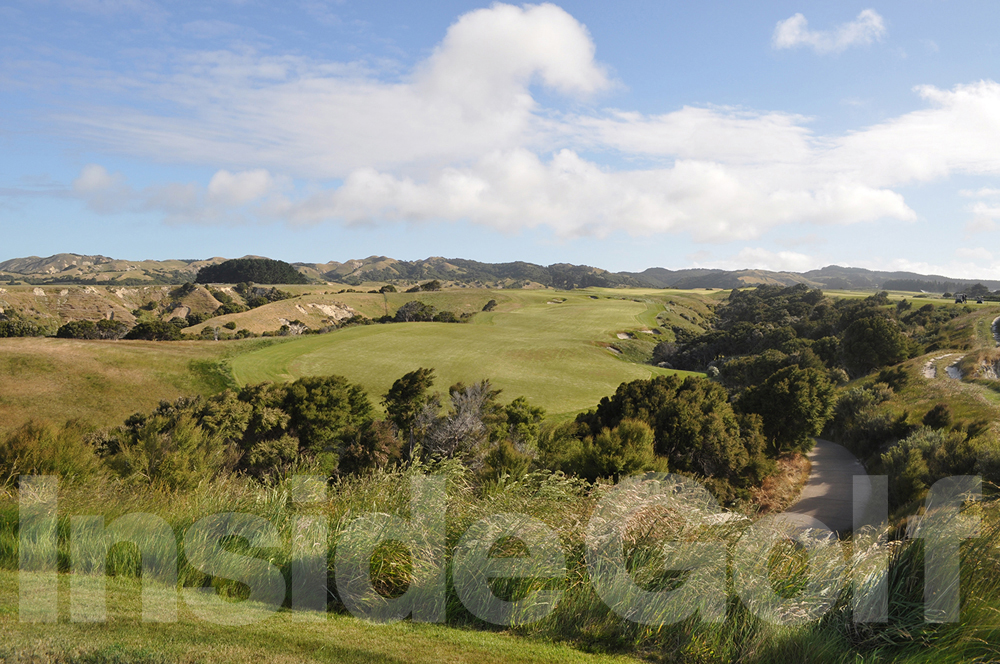Cape Kidnappers 16th  tee