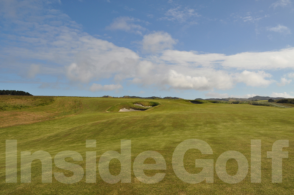 Cape Kidnappers 16th fairway