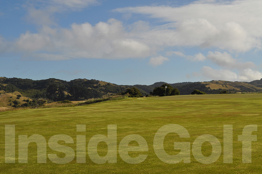 Cape Kidnappers 17th green