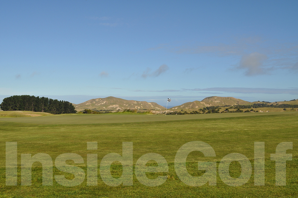 Cape Kidnappers 17th green side