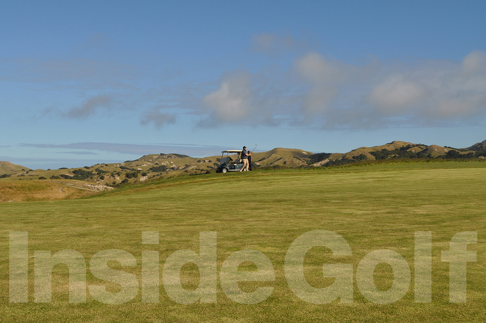 Cape Kidnappers 18th fairway