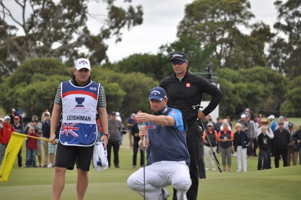 Adam Scott and Marc Leishman