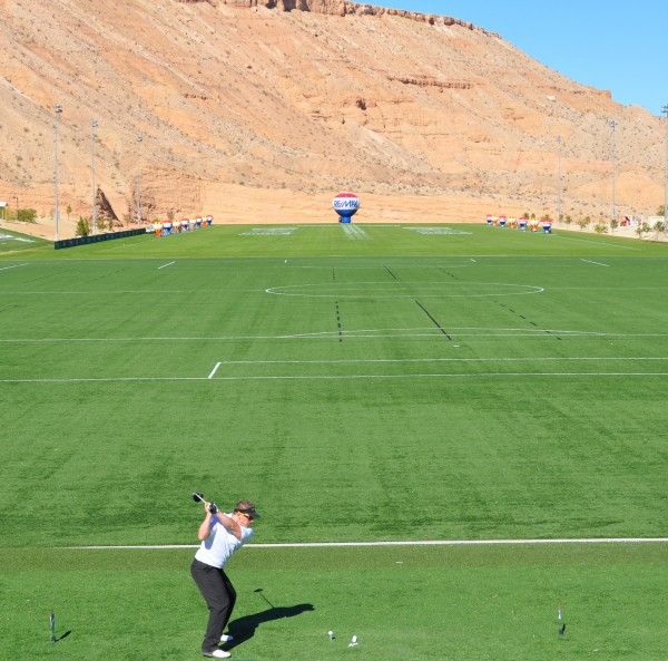 Caption: Mesquite, Nevada, is home to the RE/MAX World Long Drive Championships