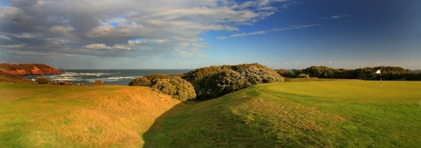 The coffin hole at Flinders GC