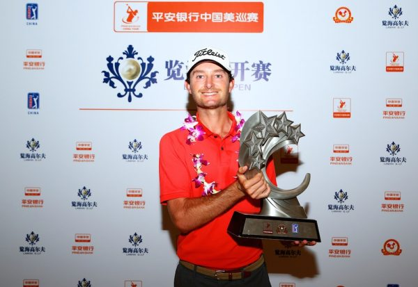 Rohan Blizard (Photo courtesy of PGA Tour China)