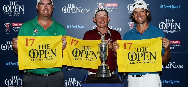 Hall, Smith and Baddeley qualify for The Open