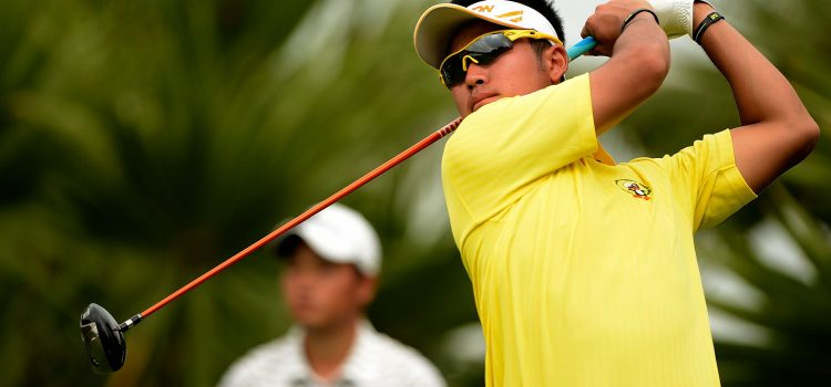 Team Japan rising to favourites at ISPS HANDA World Cup of Golf