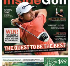 Survey names Inside Golf as Australia's top golf magazine