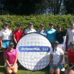 Participants at the inaugural ActewAGL Next Generation Club Camp