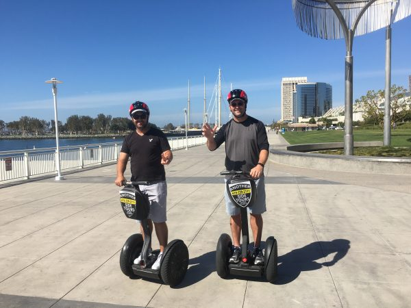 ON A ROLL: GMA (Qld) managers Scott Wagstaff (Carbrook Golf Club) and Aaron Muirhead (Nudgee Golf Club) take time out during the Club Managers' Association of America's 89th World Conference on Club Management and Club Business Expo.
