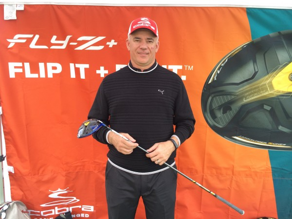 with Tom Olsavsky, Vice President of Research and Development for Cobra Puma Golf